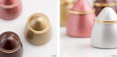 画像4: ミニ骨壷  ANON アノーン 各色 /ゴールド チョコレート ピンク パールホワイト/手元供養 分骨用 ミニ 骨壺 コンパクト 極小 小さい 日本製 高岡製 真鍮 (4)