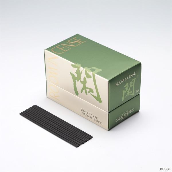 画像1: 玉初堂のお線香 ルームインセンスリビング 閑(かん) 茶席の香り  (1)